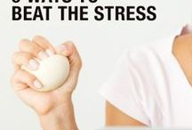 No More Stress / Different ways to over come stress or use it to your advantage.