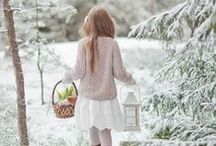 Catching snowflakes / No winter lasts forever. | Season~ Winter