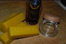 Male Grooming / Make your own Moustache and beard wax using two natural ingredients.