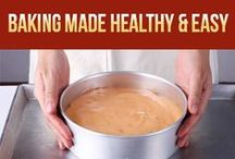 BAKING Made Healthy and Easy / Share your healthy BAKING RECIPES and BAKING TIPS. Invite your friends. No spam. Healthy pinning!  www.WellnessBakeries.com