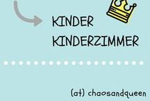 Kinder // Kinderzimmer / Ideen fürs Kinderzimmer