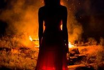 Fire Child / I survived because the fire inside me burned brighter than the fire around me. | Element~Fire