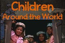 Children Around the World / Begin an adventure to a faraway place with activities, links, studies, samples and more. Our Children Around the World program is for grades 2-6 and is a geography & culture study! Discover far away lands and their peoples!  http://www.winterpromise.com/children_world.html