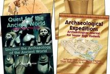 Quest for the Ancient World / Our Quest for the Ancient World program is a one year history program with different age levels available. Your students will take an adventure across time and venture into ancient Egypt, Mesopotamia, the Mediterranean world, meet the Greeks & Romans AND MORE!