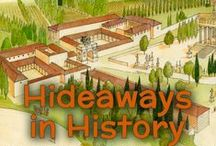 "Hideaways in History / Hideaways in History is a one-year history and science program for K-1st graders. Your children will journey to the most important events in our world's history while also creating their own ""hideaways"" at home to enhance learning!   Science that will be covered in this program is weather, seasons, health...all about GOD'S WORLD!   http://winterpromise.com/hideaways-history-theme-introduction/"