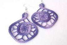 Lace jewelry / wirewrapped jewelry
