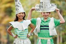 Fun Ways to Recycle Newspapers!