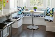 Dining & Kitchen Table Designs We Love / A collection of kitchen & dining tables we love, as well as home interior designs.