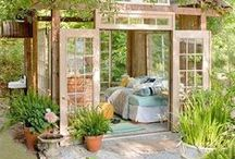 Outdoor Oasis / Filled with photos of incredible backyards, outdoor living areas and gardens.