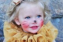 Kinderschminken / Kinderschminken für die Kostümparty, Karneval, Halloween oder Kindergeburtstage.
