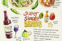 {illustrated recipes}
