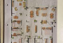Plantegning hus