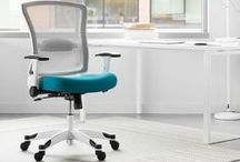 Office Chairs / Office chairs in every color and style. Ergonomic chairs, desk chairs, ball chairs, executive chairs, mesh chairs and so much more.