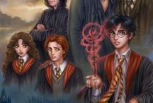 Magical Art / This is where all the Potter-themed fanarts go. Thank you to all the wonderful artists who kept the Potterverse alive! / by Caroline Dea