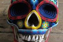Beauty of Huichol Art / We at Casitas Sayulita have been long time supporters of the Huichol arts and crafts.