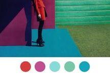 COLORES DE INSPIRACION / Todos los colores son los amigos de sus vecinos y los amantes de sus opuestos. Marc Chagall