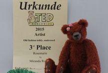 Award winning bears / over mijn prijs winnende beren