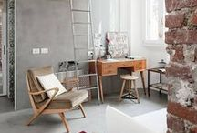 • Small apartments • / Beautiful and clever ideas for studios & small apartments
