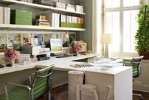 Study / Office / Library / Family History Room / Ideas for outfitting the perfect family history office, whether it's big or small.