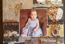 Mes pages / scrapbooking