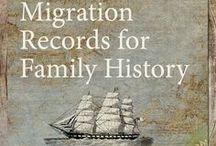 Family History - Migration / Looking for your immigrant ancestors. Here's some links to help you find them.