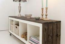 Inspiration: Furniture / Many ideas for pretty and elegant DIY Furniture projects - mostly made out of wood.   Viele Ideen für hünsche und elegante DIY Möbel Projekte - hauptsächlich aus Holz