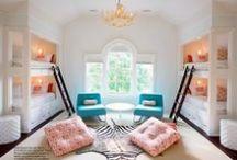 Interior: Kids rooms  | Einrichten: Kinderzimmer / Awsome ideas for kids rooms. I love the colours and creative ideas  | Tolle Ideen für Kinderzimmer. Ich liebe die Farben und kreativen Ideen