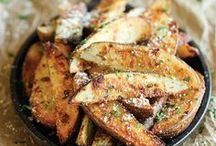 Food: Sides & Sauces / A collection of the real stars on the plate: side dishes. I always eat them first   Eine Sammlung der heimlichen Stars auf dem Teller: Beilagen. Ich esse die immer als erstes