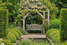 Gardens and backyard retreats...