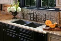 Home - Kitchens / Beautiful kitchen inspirations / by lynda wiggins