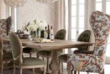 Home - Dining Rooms / Inspirations for beautiful dining rooms / by lynda wiggins