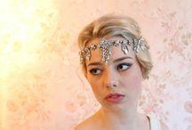 Wedding hair/head pieces