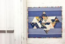 quilting / inspiring quilts - modern quilting - patterns and tutorials - casual, improv, and farmhouse style