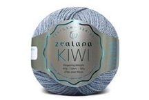 Zealana KIWI Fingering / Zealana Kiwi Fingering is 40% fine New Zealand merino, 30% organic cotton, and 30% brushtail possum. It is the perfect choice for garments that need to go the extra mile and back again...with lots of washings in between!