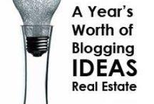 Blogging  / Fantastic resources to assist in blogging  / by Broker Mentor