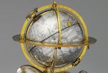 Celestial Models / Antique celestial globes, astrolabes, and armillary spheres