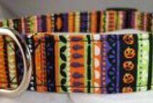 Halloween Dog Collars / Hope you enjoy our spooky, cute and scary Halloween dog collars.  Every doggie needs to be in the Halloween spirit,. / by Buddy and Friends