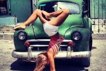 Dance outside