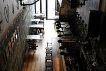 bares, restaurantes e cafés
