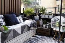 Interior: Balcony Haven / Great and pretty Ideas on how to make a small balcony look fabolous    Schöne Ideen wie auch kleine Balkons stilvoll eingerichtet werden können