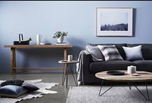 GlobeWest - Aspen Ridge / Coffee table, side table, console, with Vittoria Luisa sofa
