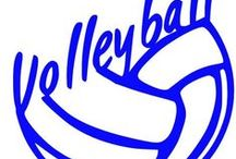 Volleyball / Volleyball, Parents, Beach, Club, Personalized, Custom Decals and Stickers
