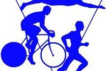 Running, Biking, Triathlon Decals and Stickers / Running, Swimming, Biking, Triathlon Decals and Stickers