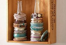 Jewelry stands and organization