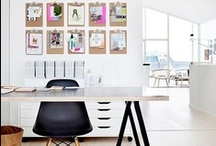 Inspiration - Working Spaces / home offices, office spaces, office storage, office furniture
