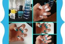 My own nail art  / Every now and again I like to try some new ideas, here are some samples.