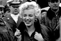 """MM - Public Appearances / """"I knew I belonged to the public and to the world, not because I was talented or even beautiful, but because I never belonged to anything or anyone else"""" – Marilyn Monroe"""
