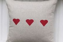 """Decor - Let's do """"PILLOW TALK"""" / I just love scatter pillows!"""