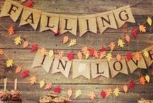 Autumn Inspiration / Here are some fun ideas to incorporate into your Fall wedding! / by Camarillo Ranch