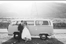 VW Wedding Style / Weddings with a Vdub flair are, simply, the best!